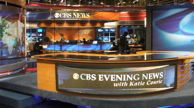 CBS - New York - News Sets Set Design - 2
