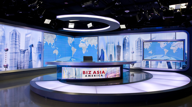 CCTV - Washington. DC - News Sets Set Design - 3