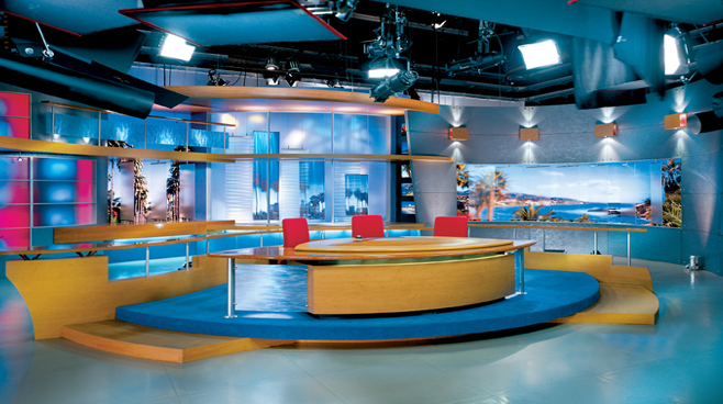 FOX Good Day Live -  - News Sets Set Design - 3