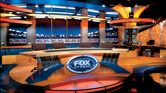 FOX Sports - Los Angeles, CA - Facilities Set Design - 1