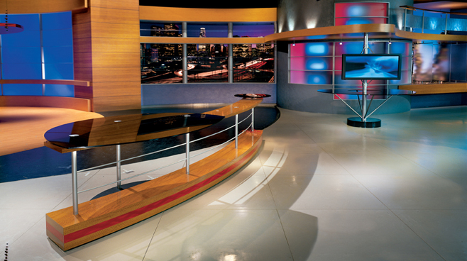 KCOP - Los Angeles - News Sets Set Design - 1