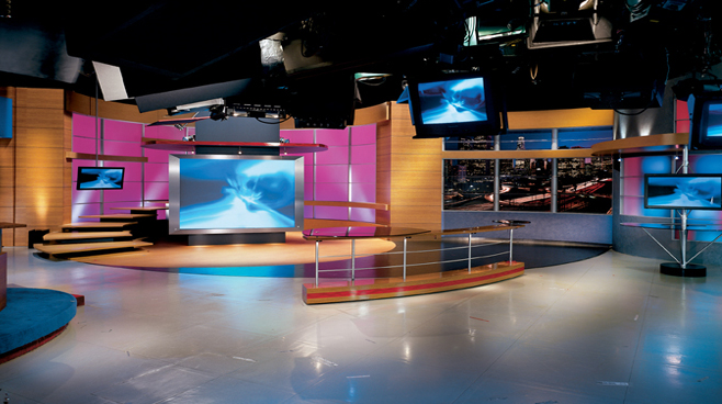 KCOP - Los Angeles - News Sets Set Design - 3