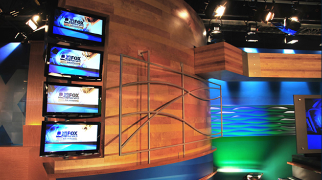 KCPQ - Seattle, WA - News Sets Set Design - 1
