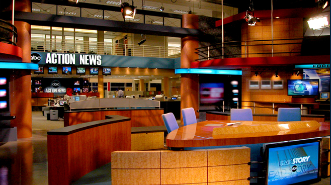 WFTS - Tampa - Facilities Set Design - 2