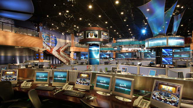 Dubai TV - Dubai, U.A.E. - Facilities Set Design - 2