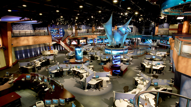 Dubai TV - Dubai, U.A.E. - Facilities Set Design - 3