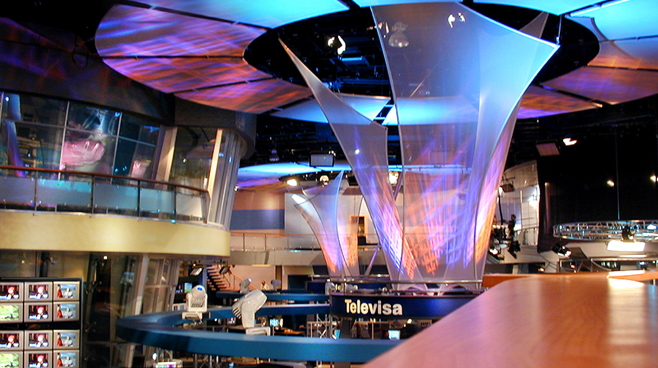 Televisa - Mexico - Facilities Set Design - 3