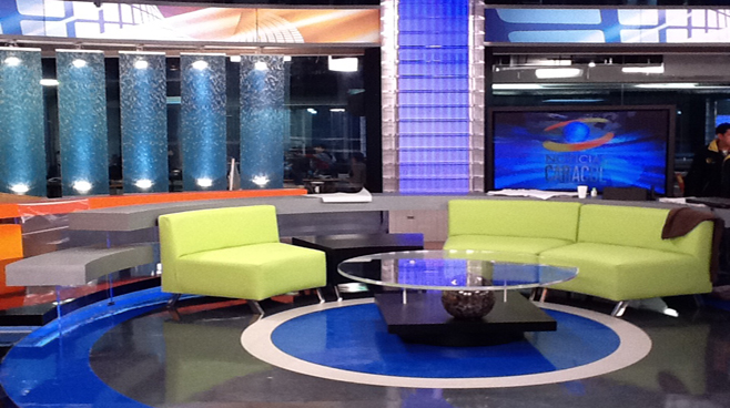 Caracol - Columbia - News Sets Set Design - 4