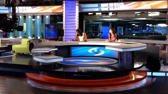 Caracol - Columbia - News Sets Set Design - 5