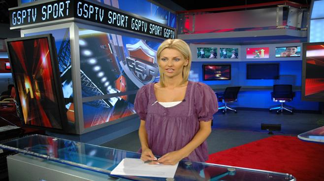 GSP TV -  - Sports Sets Set Design - 1
