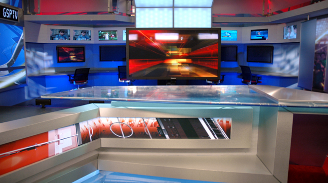 GSP TV -  - Sports Sets Set Design - 3
