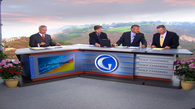 Golf Channel -  - Sports Sets Set Design - 1