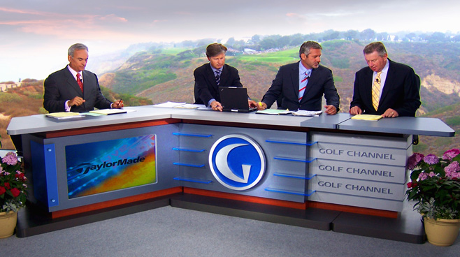 Golf Channel -  - Sports Sets Set Design - 2