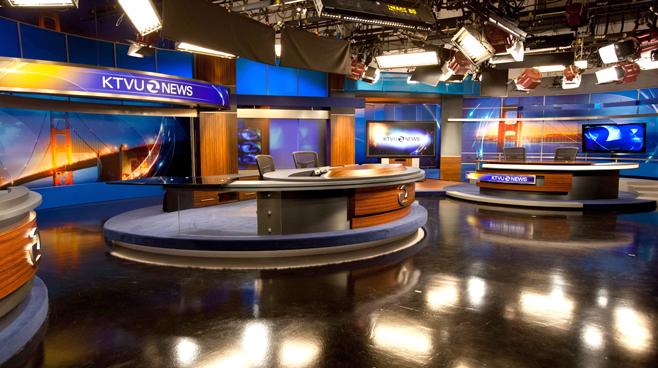KTVU - Oakland - News Sets Set Design - 1