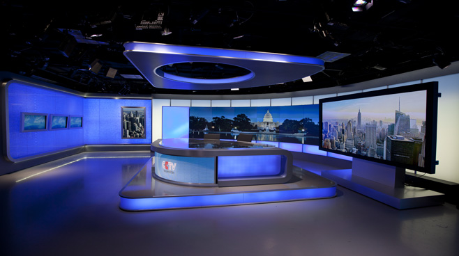 CCTV Washington DC - Washington DC - News Sets Set Design - 7