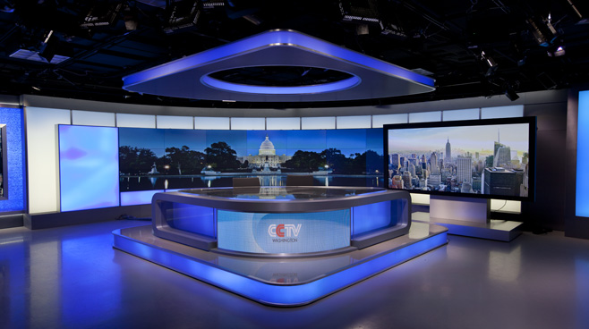 CCTV Washington DC - Washington DC - News Sets Set Design - 8