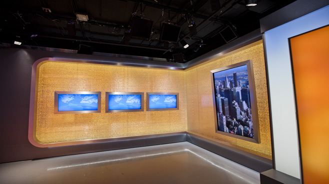 CCTV Washington DC - Washington DC - News Sets Set Design - 5