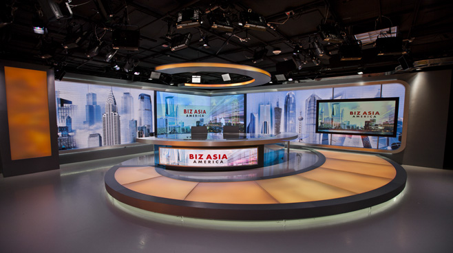 CCTV - Washington. DC - News Sets Set Design - 5