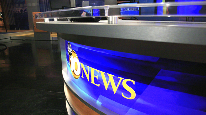 KGTV - San Diego - Weather Centers Set Design - 1