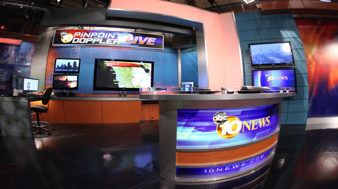 KGTV - San Diego - Weather Centers Set Design - 3