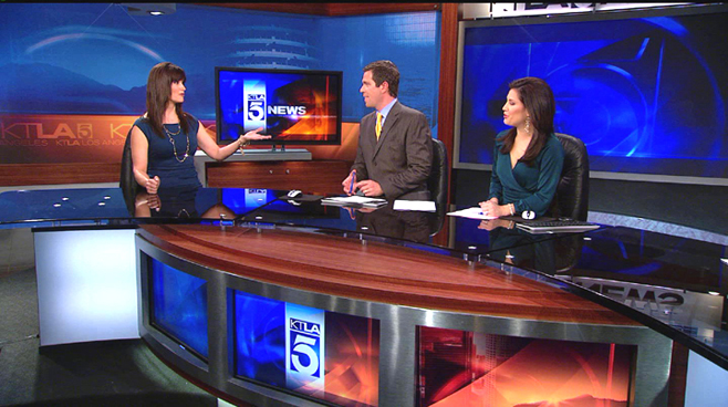 KTLA - Los  Angeles - News Sets Set Design - 4