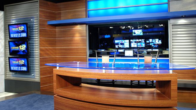 News 12 New Jersey - New Jersey - News Sets Set Design - 2