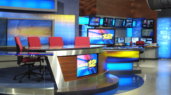 News 12 New Jersey - New Jersey - News Sets Set Design - 4