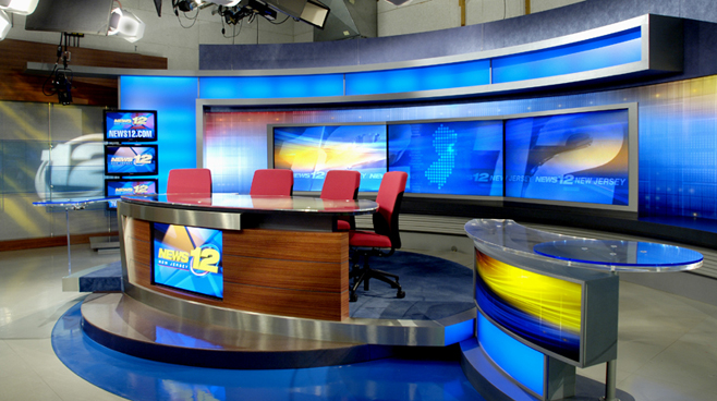 News 12 New Jersey - New Jersey - News Sets Set Design - 5