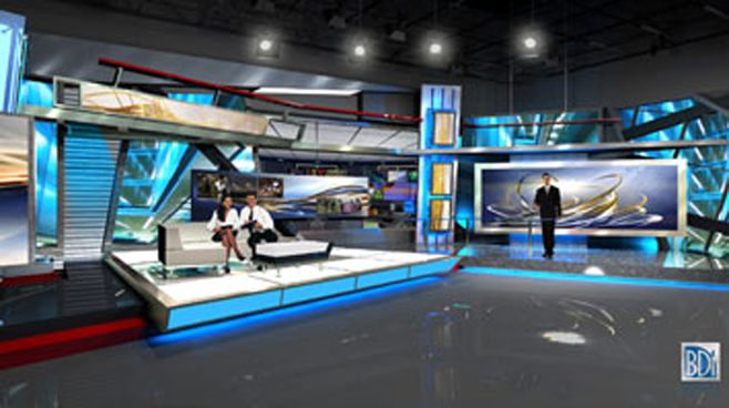 Talk Magazine -  - Talk Shows Set Design - 1