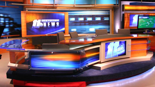 WTVD - Raleigh - News Sets Set Design - 1