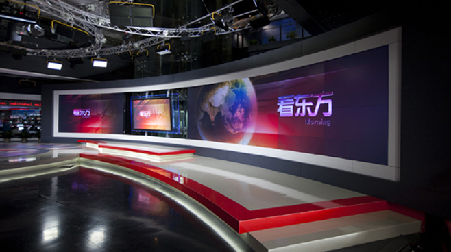 SMG Dragon TV - Shanghai, China - Facilities Set Design - 3