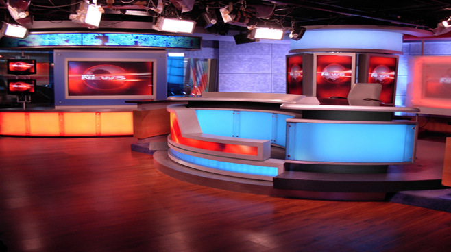 Network 18 -  - News Sets Set Design - 2