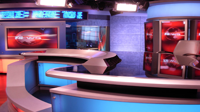 Network 18 -  - News Sets Set Design - 3