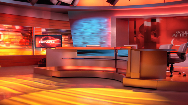Network 18 -  - News Sets Set Design - 6