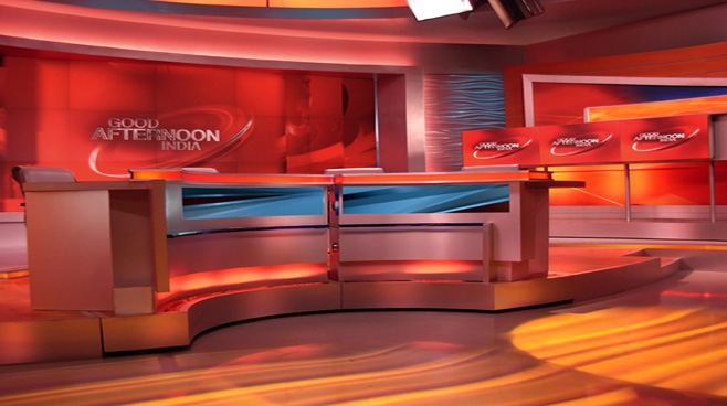 Network 18 -  - News Sets Set Design - 7