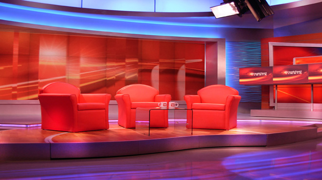 Network 18 -  - News Sets Set Design - 8