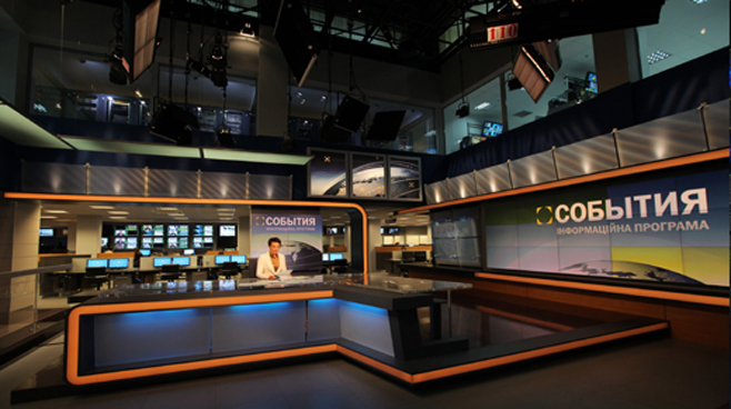 TRK - Ukraine - News Sets Set Design - 1