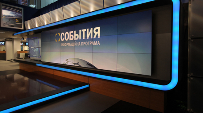 TRK - Ukraine - News Sets Set Design - 2