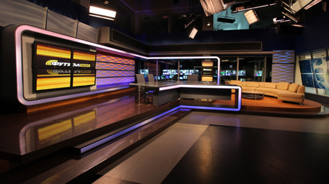 TRK - Ukraine - News Sets Set Design - 3
