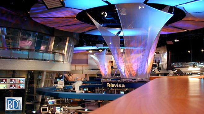 Televisa - Mexico City - Newsrooms Set Design - 1