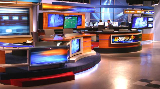 WTVD - Raleigh - News Sets Set Design - 3