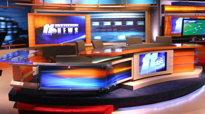 WTVD - Raleigh - News Sets Set Design - 2