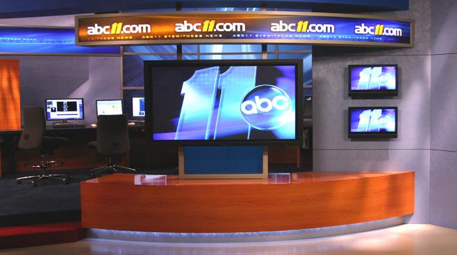WTVD - Raleigh - News Sets Set Design - 4