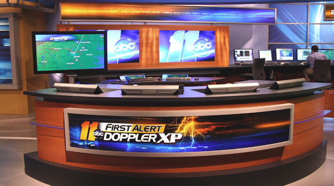 WTVD - Raleigh - News Sets Set Design - 5