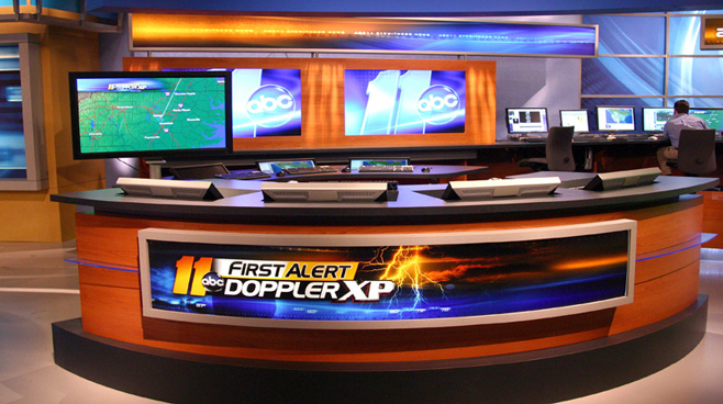 WTVD - Raleigh - News Sets Set Design - 6