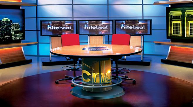 Comcast Night Beat - Boston, MA - Talk Shows Set Design - 1