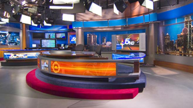 KXAS -  - News Sets Set Design - 1