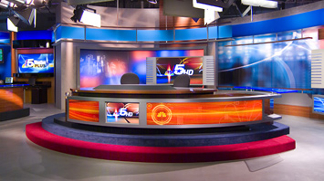 KXAS -  - News Sets Set Design - 2