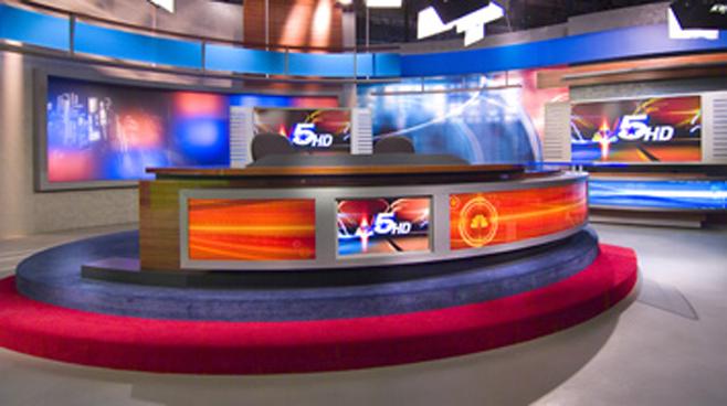 KXAS -  - News Sets Set Design - 3
