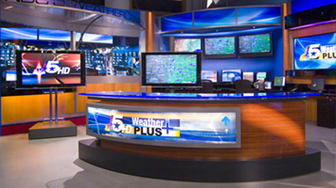 KXAS -  - News Sets Set Design - 6
